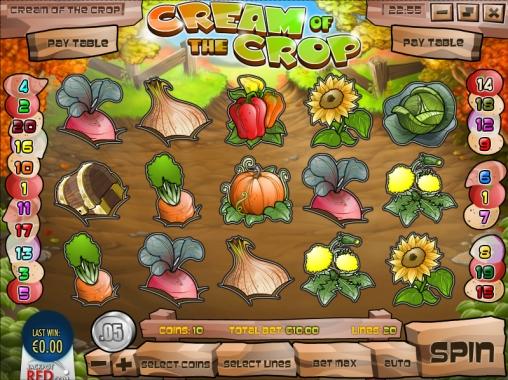 Cream of the Crop в онлайн казино online-xcasino